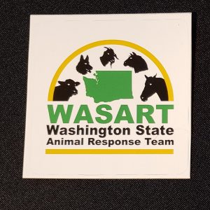WASART Square Sticker